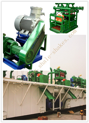 Oil drilling solids control equipment