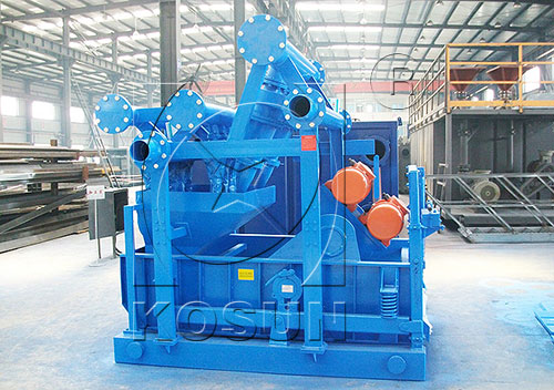 Mud cleaners for drilling fluids solids control