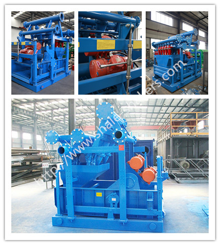 KOSUN drilling fluids mud cleaner