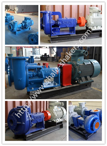 Centrifugal pumps for solids control equipment
