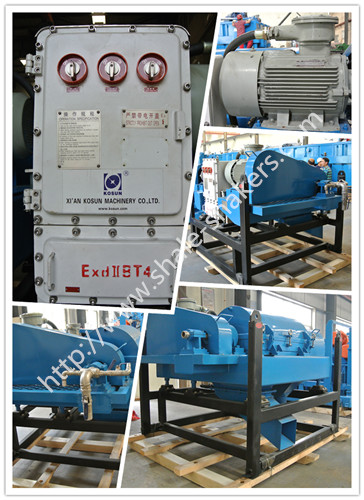 drilling centrifuge in solids control system