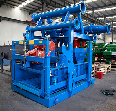 Mud cleaner in drilling solids control system