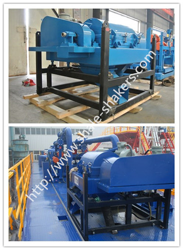 decanter centrifuge for drilling rig