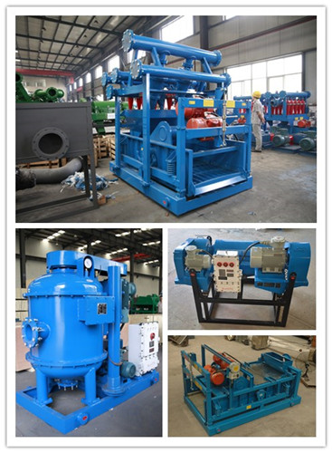 five stage solids control equipment