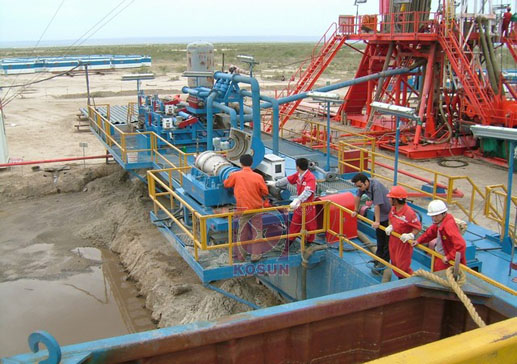 KOSUN drilling waste management in site