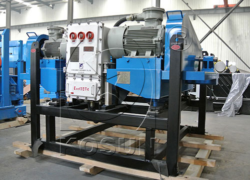 Drilling decanter centrifuge