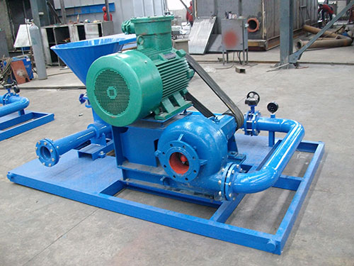 Centrifugal pump for Jet mud mixer