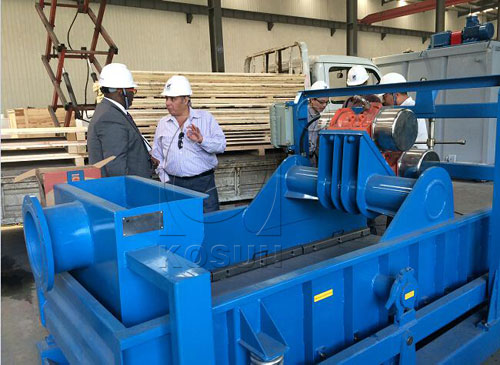 Sudan drilling company paid a visit to KOSUN factory