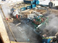 KOSUN's Solids Control System is Working Normally on the Site of Kazakhstan