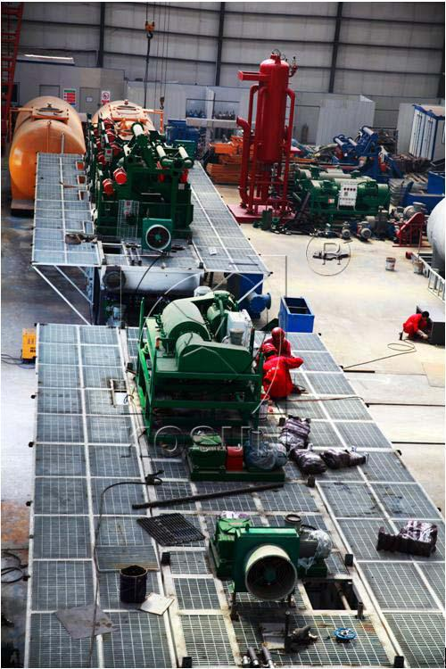 KOSUN 1000GPM Orbit Low Temperature Drilling Fluid Applied by Some Russian Drilling Company in Siberian Lukoil Oilfield
