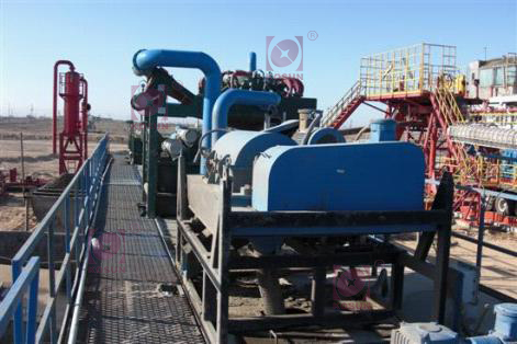 This pic shows KOSUN's solids control system used on the site of Aktau Oilfield in Kazakhstan.