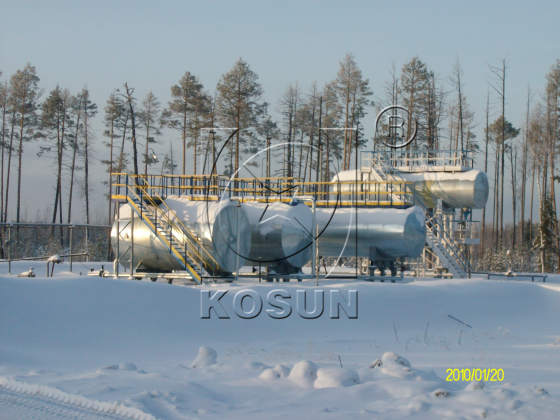 KOSUN's Drilling Solids Control System Worked Normally in the Alpine Climate of Russia