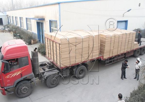 The shipment from KOSUN's manufacturing plant