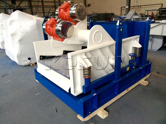 Drilling Fluid Shale Shakers Customized by KOSUN for CNOOC