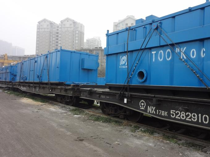 KOSUN Drilling Mud Solids Control Equipment Ready for Transportation
