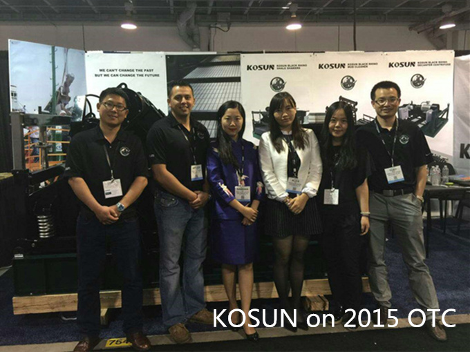 KOSUN Exhibition Team on 2015 OTC
