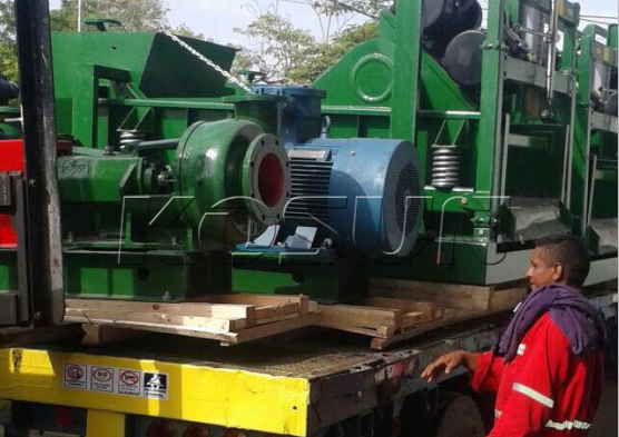 KOSUN Solids Control Equipment Reached a Drilling Site in South America