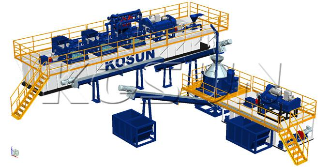 KOSUN Oil-based Mud Drilling Waste Management System