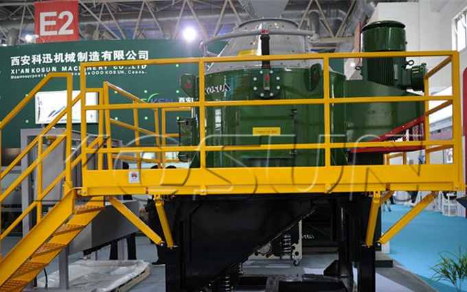 KOSUN VC-1000 Vertical Centrifuge on Exhibition (II)
