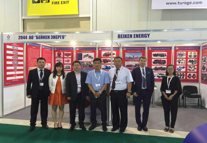 KOSUN and Beiken Energy Exhibition Team