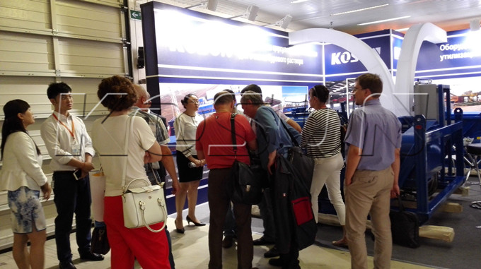 Foreign Customers are Visiting KOSUN Solids Control and Drilling Waste Management Equipment (II)