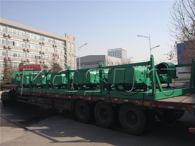 KOSUN decanter centrifuges are being delivered
